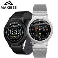 Makibes Q28 Smart Watch Men Women Blood Pressure Monitor IP67 Waterproof Clock Fitness Tracker Smart Wristwatch iOS Android