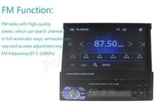 New Car Radio MP5 Player FM USB TF 1 Din remote control 12V Car Audio Auto stereo 7 inch car radio in dash Aux touch screen