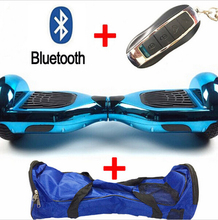 Tax free 6 5 Inch Hoverboard Bluetooth Smart Self Balancing Scooter 2 Wheel Balance Board Remote