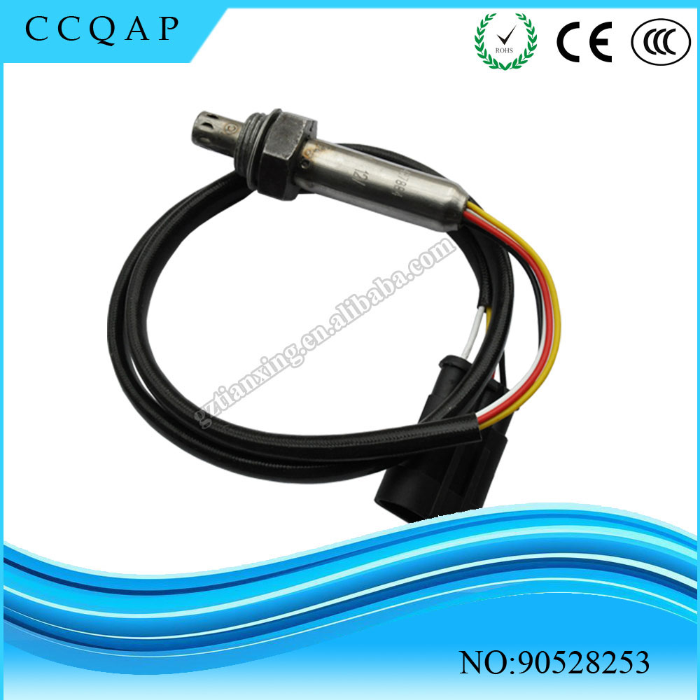 High quality 90528253 O2 Oxygen Sensor For Opel Vauxhall Astra Vectra Cavalier Zafira Calibra car styling good quality ityaguy oxygen sensor o2 sensor for toyota corolla wish oem 89467 12100 8946712100
