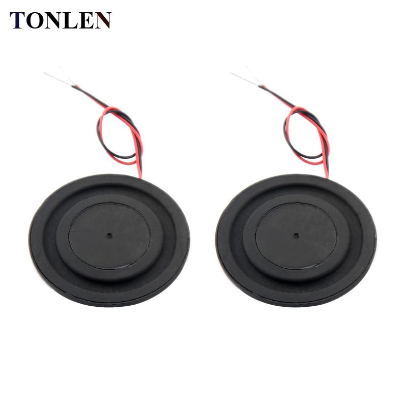 TONLEN 1.5 inch 43mm Full Range Ultra Thin Speaker Unit 8 Ohm 5 W Bass Shock Basin Vibration Diaphragm Audio Bluetooth Speaker