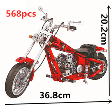 цена на Technic Motorcycle Moto Building Blocks Sets Bricks Model Kids Classic Toys For Children Gifts Compatible with Car