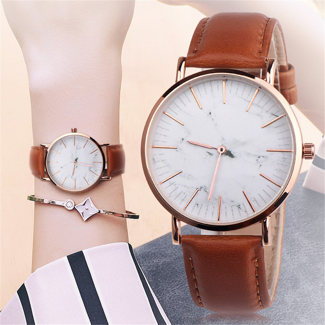 2018 Fashion Couple Retro Bird Design Leather Band Analog Alloy Quartz Wrist Wat