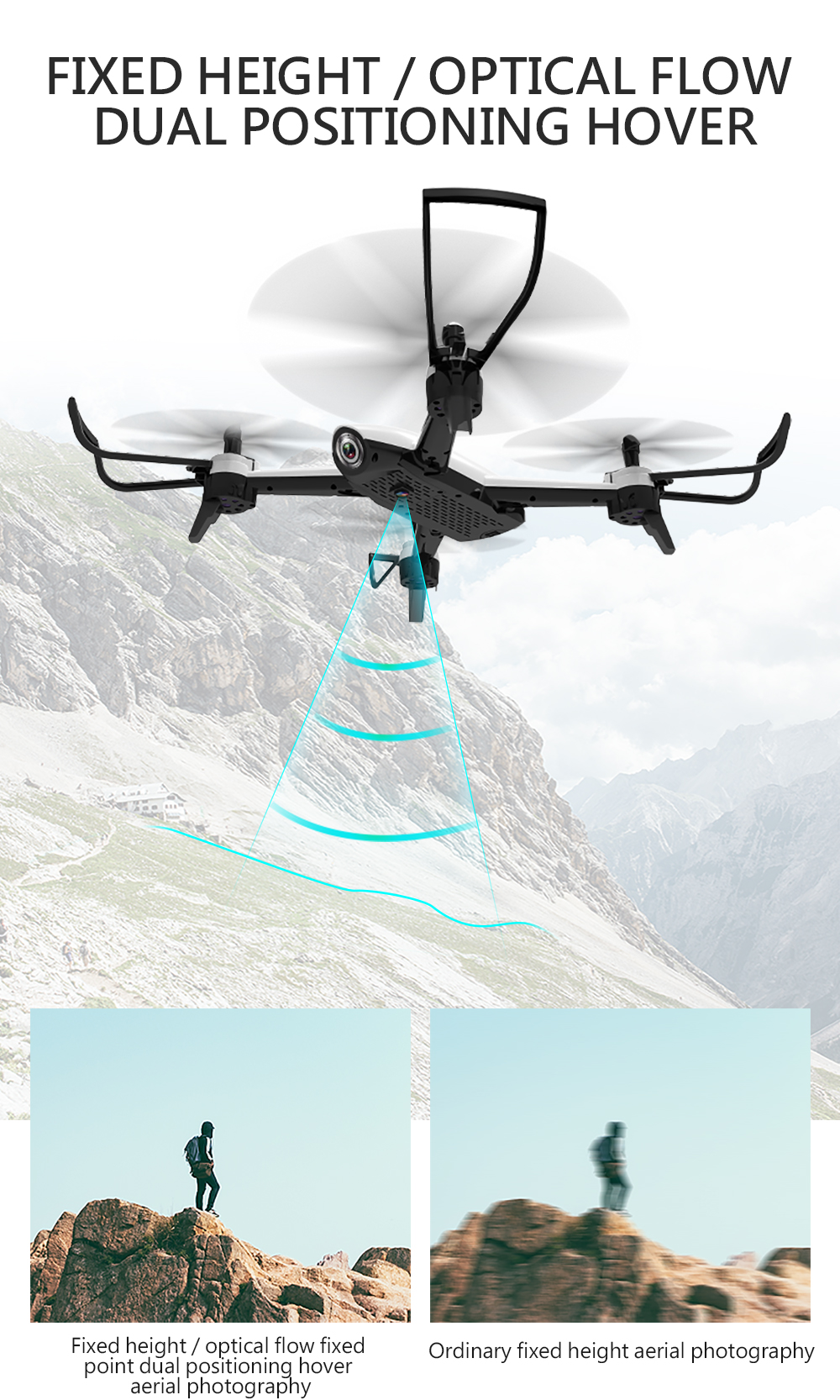 SG106 4K 1080P/720P Drone with Dual Camera and Wide Angle Optical Flow for Real-Time Aerial Video 17