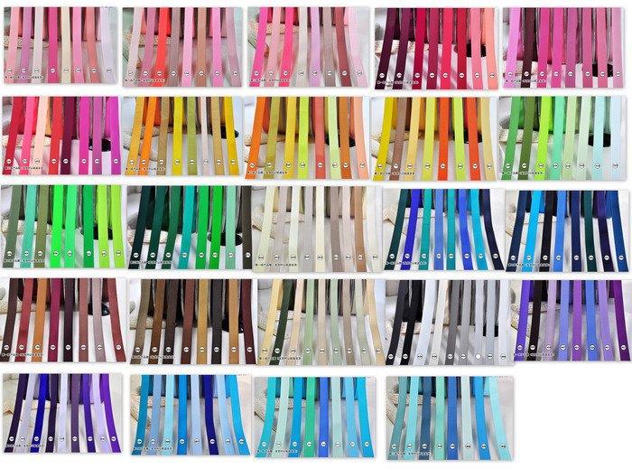 DHK 196 Opciones de color Varios tamaños Envío gratis alta calidad Color sólido Grosgrain Ribbon pick color boda embalaje S440