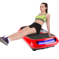 Fat Burning Plate 4D Exercise Vibration Fitness Massager LCD Display Slimming Device For Body Building Workout Weight Loss HWC