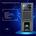 Biometric Building Management System ZK F18 Biometric Fingerprint Access Control Time Attendance Security System