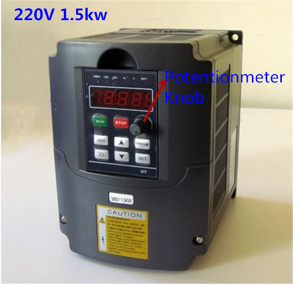 Free Shipping Variable Frequency Drive VFD Inverter 1.5KW 2HP 220V 7A 1.5kw inverter 4kw 380vac 0 1000hz variable frequency drive vfd inverter