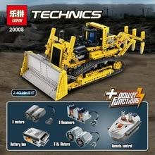 DHL LEPIN 20008 Technic Series Remote Contro the bulldozer Model Assembling Building block Bricks kits Compatible