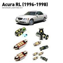 Led interior lights For Acura RL 1996-1998  18pc Lights Cars lighting kit automotive bulbs Canbus