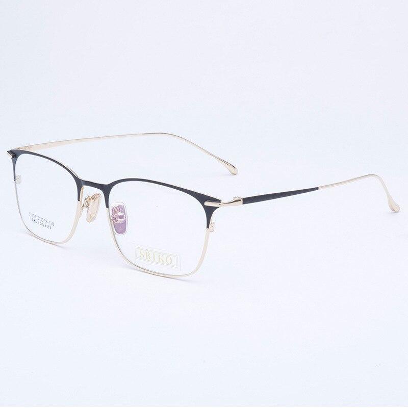 b238c7417e Ultem Men Myopia Glasses Woman Eyeglasses Frame Boys Girls Square Spectacle  Leisure Tungsten Titanium High Quality