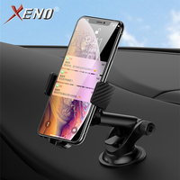 Qi Car Wireless Charger For iPhone X XS Max Samsung Light sensing Sensor Fast Wireless Charging Car Phone Charger