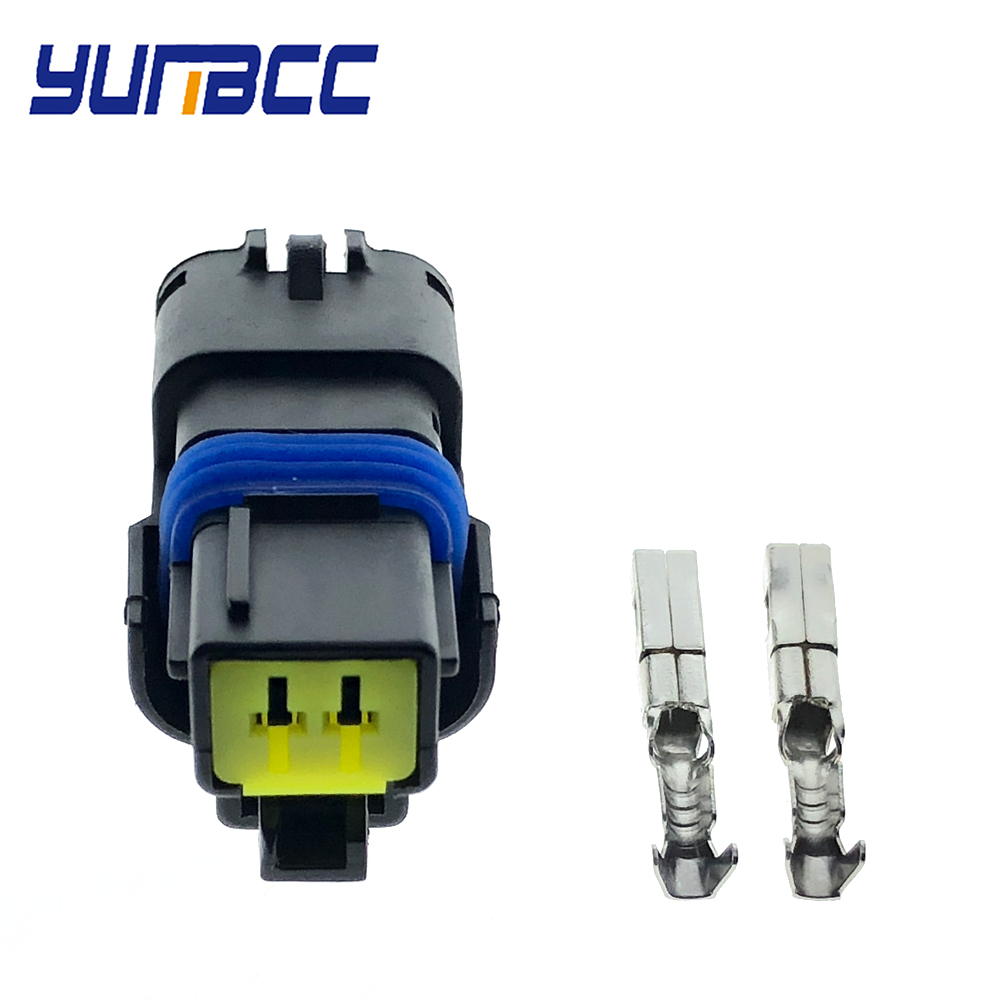 5sets 2 Pin FCI Female Water Temperature Sensor Plug Turn Light FO Lamp Connector For Renault Peugeot Citroen5sets 2 Pin FCI Female Water Temperature Sensor Plug Turn Light FO Lamp Connector For Renault Peugeot Citroen