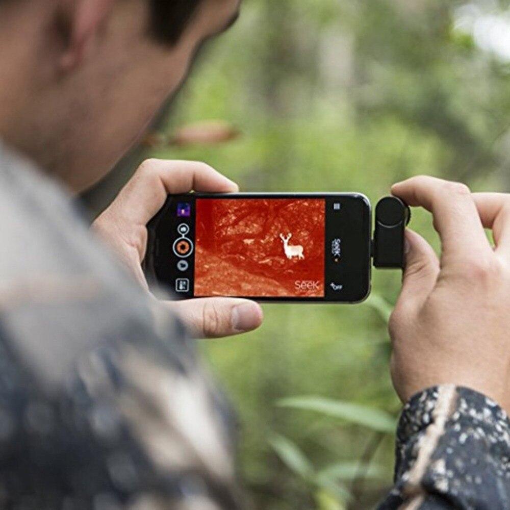 Téléphone portable chercher caméra thermique infrarouge imageur Termometro thermomètre numérique Weerstation Support vidéo images pour Android - 2