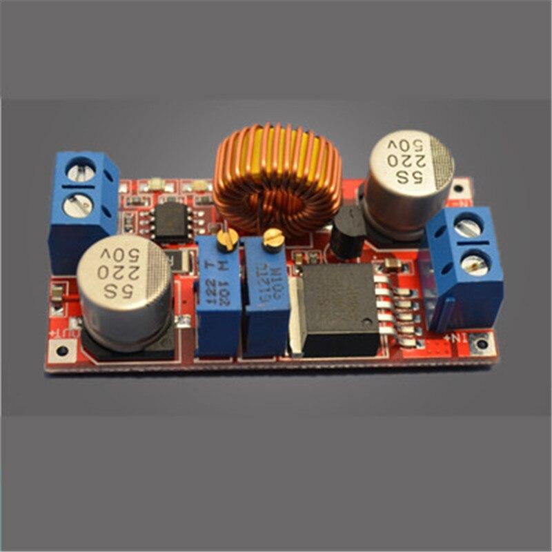 5А Lthium-ионного Аккумулятора СВЕТОДИОДНЫЙ Драйвер Шаг Вниз CC CV Модуль Питания 4-38 В к 1.25-36 В ADJ
