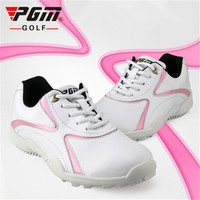 PGM Women Golf Sneakers Outdoor Sport non slip Golf Shoes Ladies Waterproof Breathable Soft Fixed Nail Foot Care golf shoes