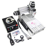 Mini CNC 3020Z DQ CNC engrave machine with ball screw auto checking tool