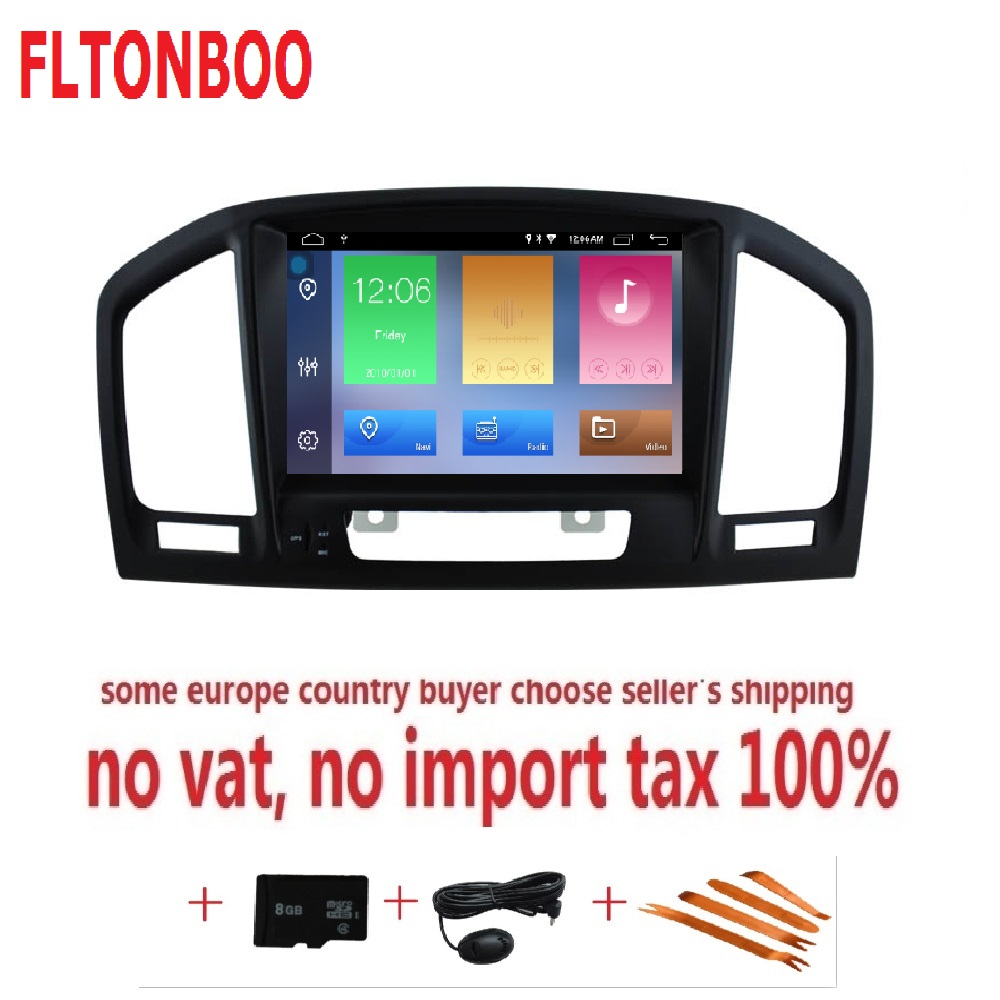 8 inch Android 8 1 for opel insignia gps navigation wifi radio bluetooth Steering wheel Canbus