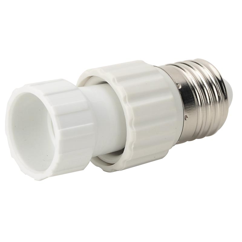 E27 TOGU10 Bases Screw Light Bulb Support Socket Adapter Flame Retardant Converter PBT Plastic Converter