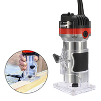 220V 530W Electric Hand Trimmer Wood Edge 1 4 Wood Router Trimmer Router Tools For Woodworking