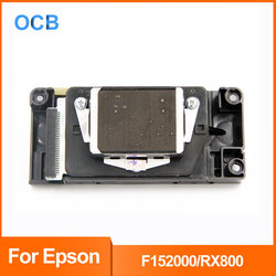 DX5 odblokowany F152000 głowica drukująca Epson Stylus Photo R800 na bazie wody głowica drukująca do R800|Części drukarki|Komputer i biuro -