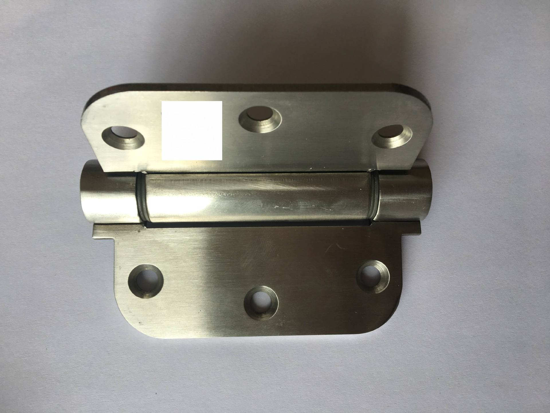 Spring Hinge Automatic Closing Torsion Silent Round Corner Hinges Flat Furniture hinges Door hinge SUS 304 stainless steel free door spring hinge bidirectional open stainless steel automatic door closing device cowboy bar wicket hinges 2pcs