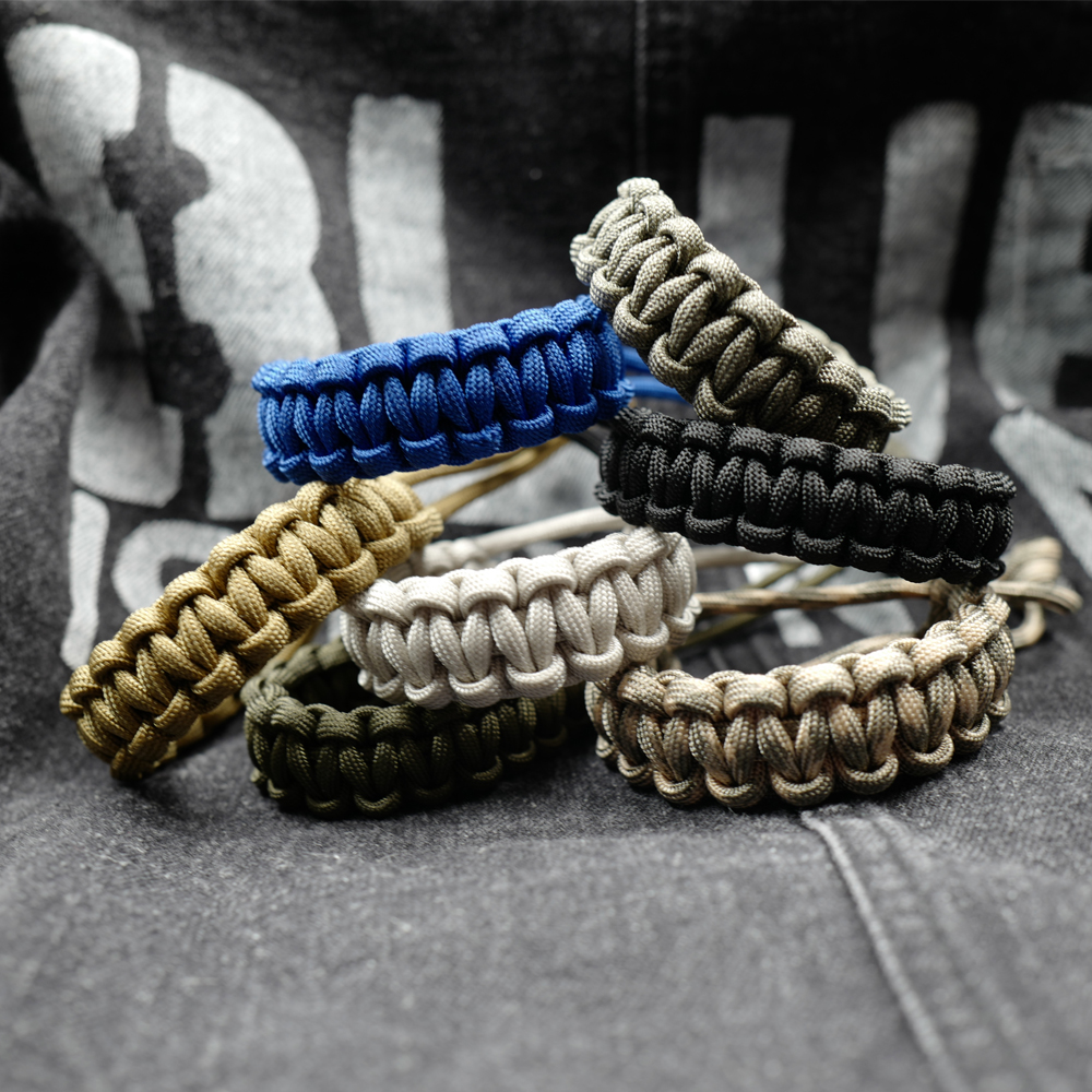 New Arrival Adjustable Survival Emergency 550 Paracord Bracelet Parachute Cord Bracelet For Camping Hiking Outdoor