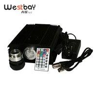 Westbay 90 Вт Светодиодный DMX волоконно-оптический двигатель AC85-260V Вход DMX512 совместимый RF RGB высокого Мощность сигнальная лампа для всех типов во...