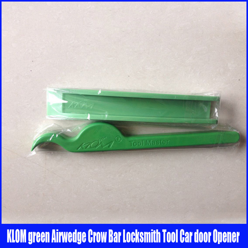Green Set Durable Nylon Wedge Crowbar Locksmith Tool Master Lock car locksmith tools stainless steel 072087 locksmith dual head car lock transmission tool set silver 4 pcs