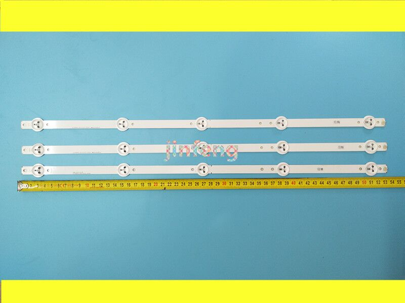New 1set=3PCS 5LEDs 530mm LED Backlight Strip For 28inch TV L2830HD 28C2000B SVJ280A01 REV3 5LED 130402 M280X13-E1-H