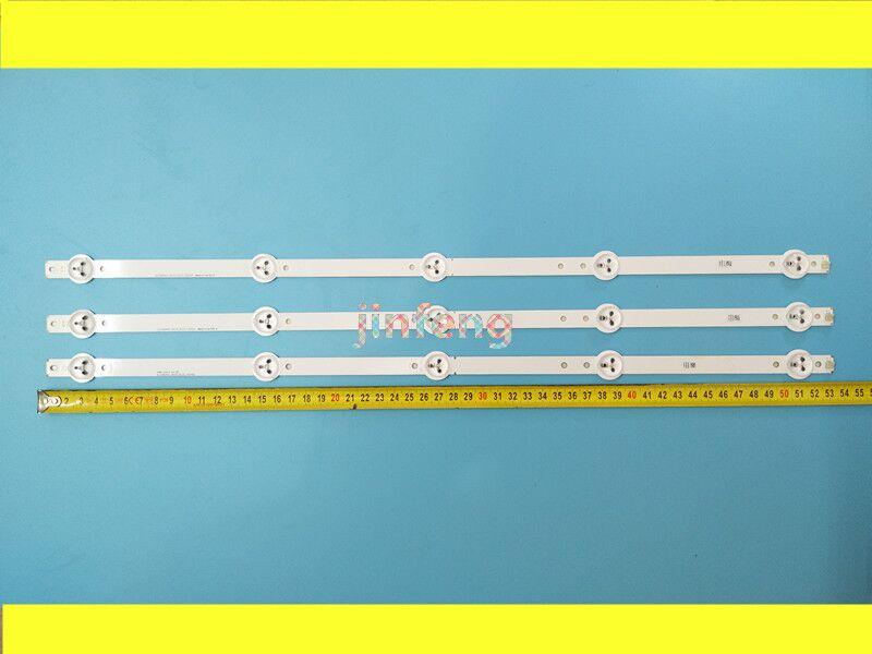 New 1set=3PCS 5LEDs 530mm LED Backlight Strip For 28inch TV L2830HD 28C2000B SVJ280A01 REV3 5LED 130402 M280X13-E1-H
