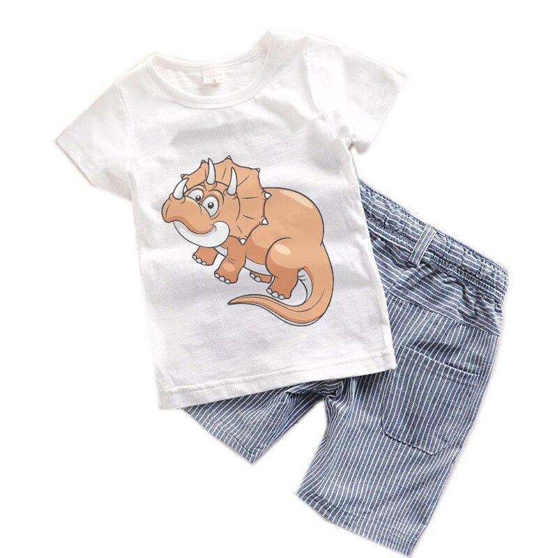 2017 New Toddler Boy Clothes Summer Children Kids Boys