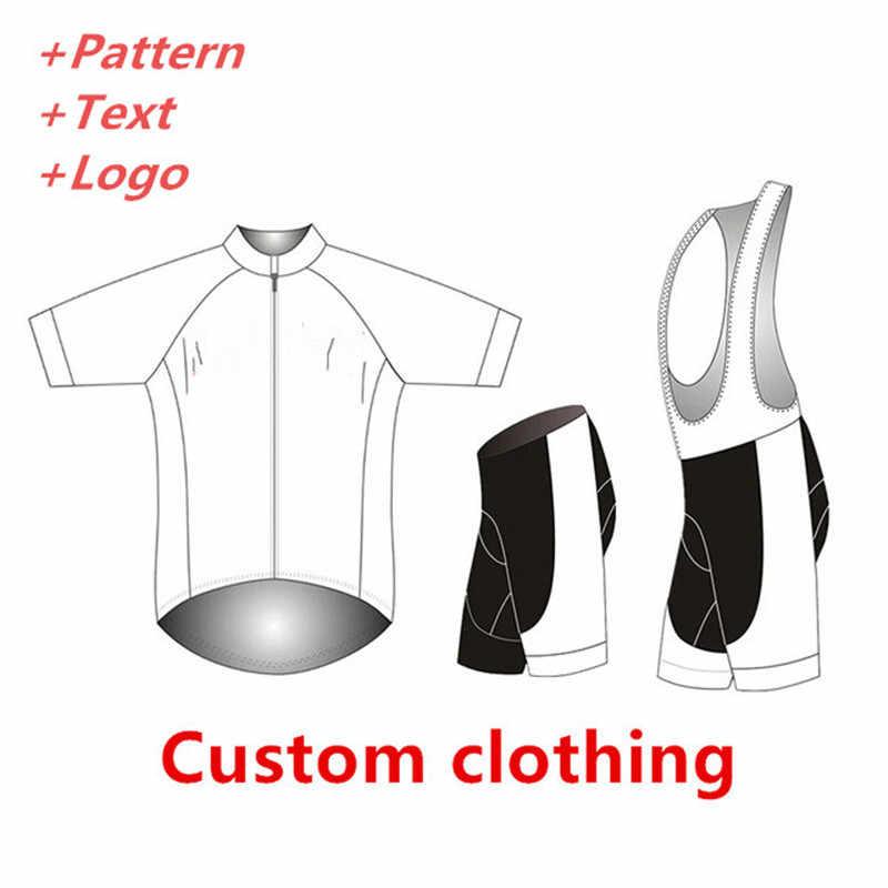מותאם אישית גובה איכות רכיבה על אופניים ג 'רזי ביב מכנסיים skinsuit זרוע רגל מתחמם כיסוי כובע חליפת טריאתלון אופני ציוד צוות בגדים