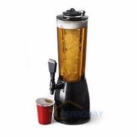 2.5L Tabletop Cooling Beer Beverage Bar Dispenser Tower Machine Fruit Juice Tap Spill proof Coke