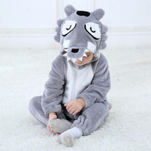 Baby Animal Grey Golf Kigurumi Pajamas Clothes Newborn Anime Cute Infant Rompers Onesie Cosplay Costume Outfit Hooded Jumpsuit kimoca cute bee ear hooded baby rompers for babies boy girls clothes newborn clothing brands jumpsuit infant costume baby outfit