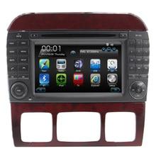 2DIN New Wince 6.0 For Mercedes W220 W215 S280 S320 S350 S400 S500 S600 S Class OLD Car DVD player Radio Gps Multimedia System