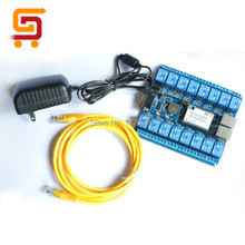 New Version 16 Channel Network WIFI Relay Board Remote Control Module With P2P Definite Time Function