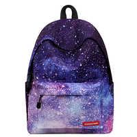 Starry Sky School Backpack Bags for Teenage Girls 2019 Waterproof Student Bookbag Lightweight Female Rucksack Feminine Packbags