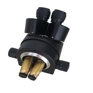 Image 4 - Continue 7 45X Binocular stereo microscope Industrial microscope zoom Magnification head