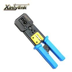 Xintylink EZ rj45 herramienta de Red Manual alicates rj12 cat5 cat6 8p8c Cable Stripper pinza de presión pinzas clip multifunción