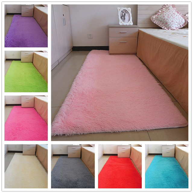 FAMIFUN Fashion Carpet Bedroom Decorating Soft Floor Carpet Warm ...