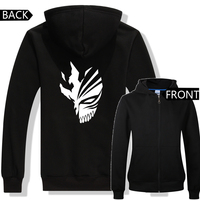 New anime hoodies Bleach KUROSAKI Ichigo Mask concept cartoon hoodies men's bleach hoodies ac580