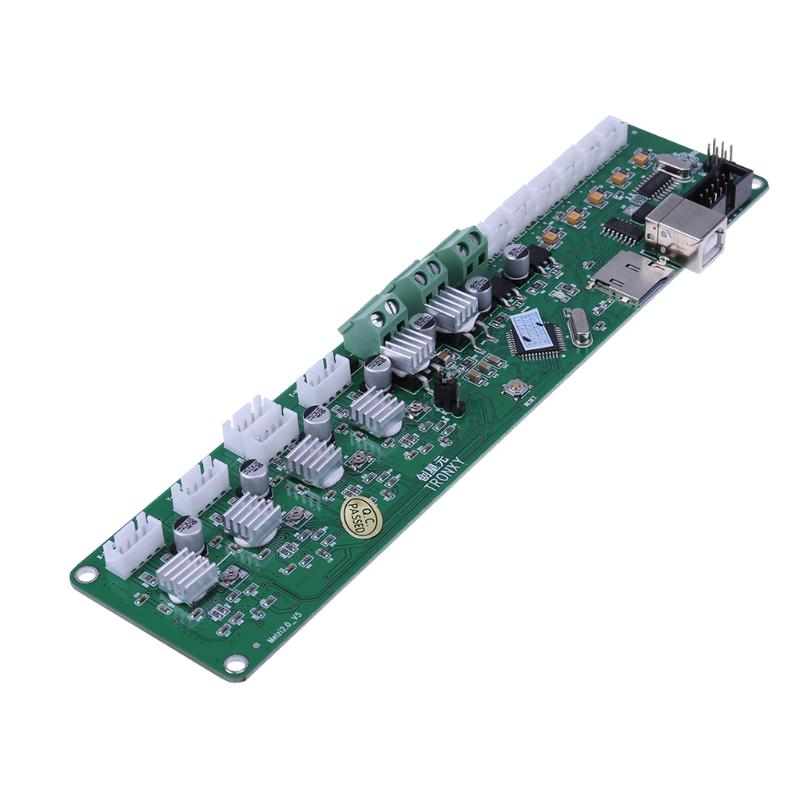 DC 12V 3D Printer Motherboard 2.0 3D Printer Control Board PCB ATMEGA 1284P P802M X3A Motherboard Support Windows/Mac OS