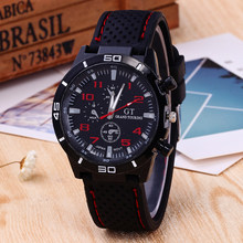 Fashion Sport GT Silicone Watch Fashion Business Men's Watch Men's Women's Outdoor Running Table