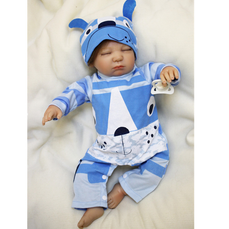 2017 New 20Inch Bebe Reborn New Born Baby Doll Menina Children Best Gift Silicone Reborn Doll for Kids Handmade Princess Bonecas walkera qr x350 premium z 25 29 6v 3000mah lipo battery for walkera qr x350 premium helicopter f14451
