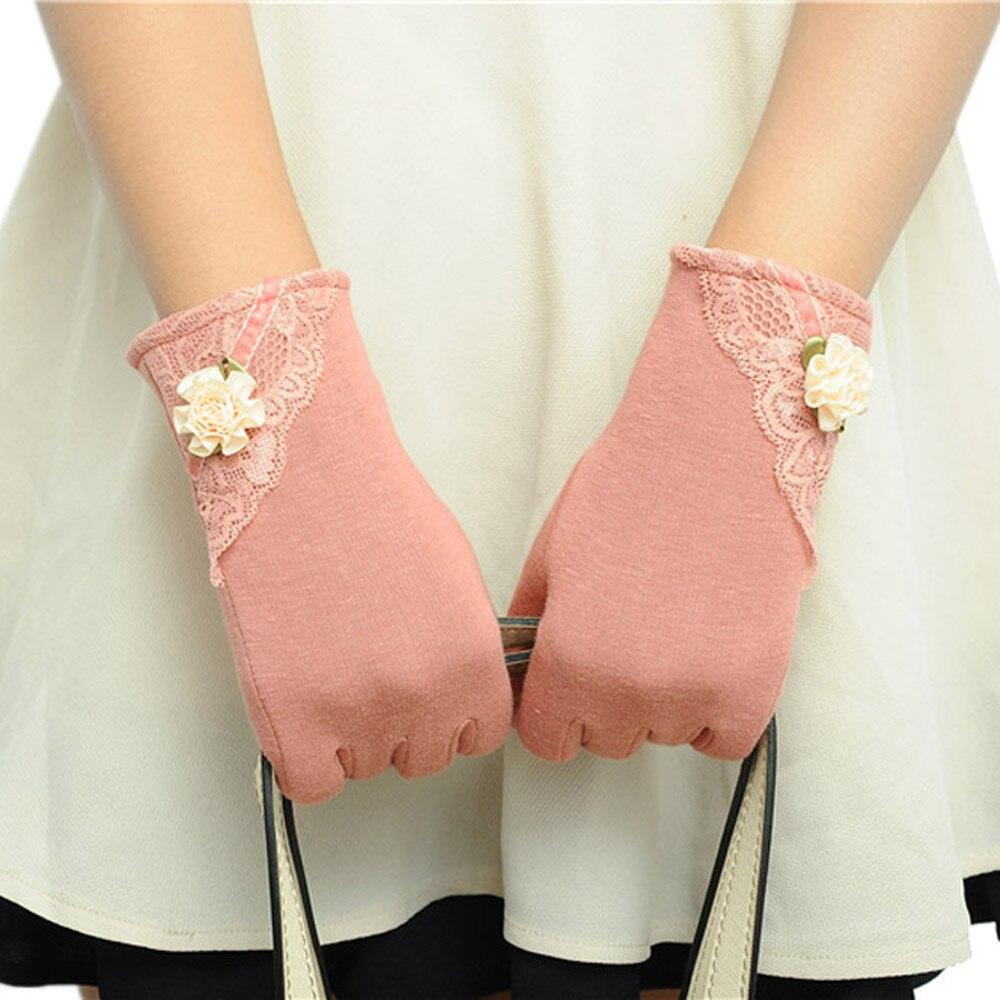 Freundlich Heißer Verkauf Handschuhe Frauen Fühlen Screen Winter Warme Handgelenk Handschuhe Fäustlinge Luvas De Inverno Gants Femme Rabatte Verkauf
