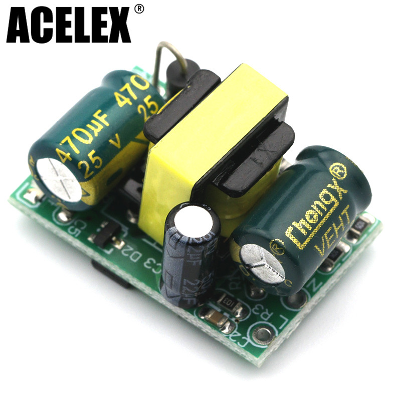 12V400ma isolated switching power supply module (4.8W) / AC-DC step-down module Buck module 220V to 12V цена