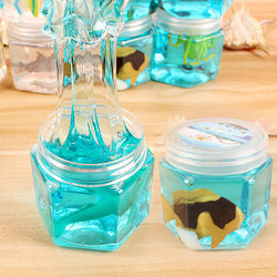 Kocozo Slime Slime Slime Slime Floam Fofo Anti-stress DIY Brinquedos para As Crianças Puzzle Brinquedo Inteligente Brinquedo Sludge Mud argila luz