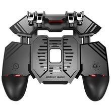 6 นิ้ว pubg gamepad mobile controller cooling จอยสติ๊กสำหรับ iphone ios android pubg โทรศัพท์ cooler controller พร้อม power bank