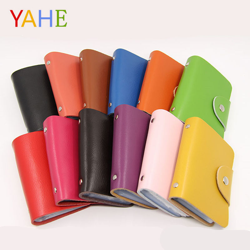 YaHe 26 Slot Mini Card Holder Wallet Women & Men Credit ID Card Bags Business Bank Card Case Femme Carteira Purse with Hasp 2018 app blog women men credit id card holder case extendable business bank cards bag small wallet coin purse carteira mujer male